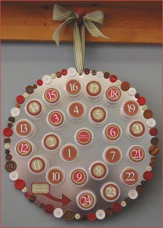 Swirl Christmas Countdown